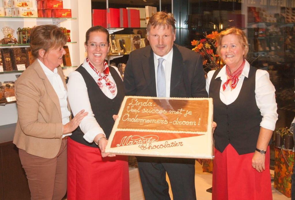 Opening Martinez Chocolatier Alphen